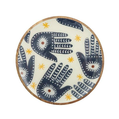 Skye Wood/Resin Plate - Eden Gardens