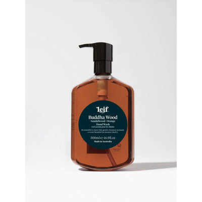Leif Hand Wash 500ml Buddha Wood - Eden Gardens