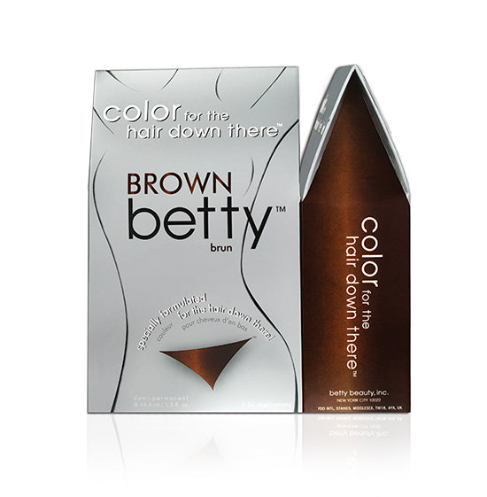Betty Beauty Brown Betty - Color For The Hair Down There Hair Coloring Kit