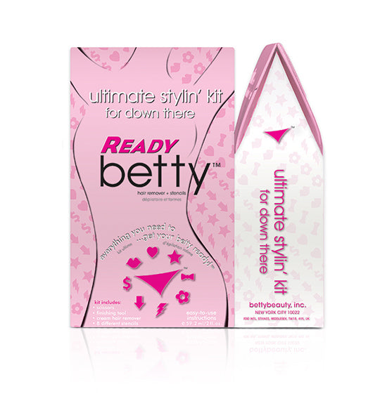 Ready Betty Ultimate Stylin Kit - Hair Removal for Down There