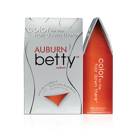 Betty Beauty Color for the Hair Down There - Auburn Betty