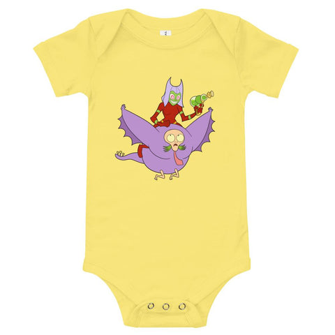 BFFs Onesie Yellow | Twelve Forever