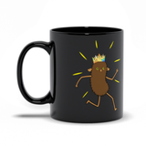 Brown Roger Black Mugs | Twelve Forever