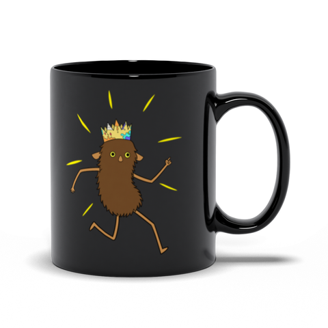 Brown Roger Black Mugs 11 oz | Twelve Forever