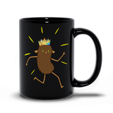 Brown Roger Black Mugs 15 oz | Twelve Forever