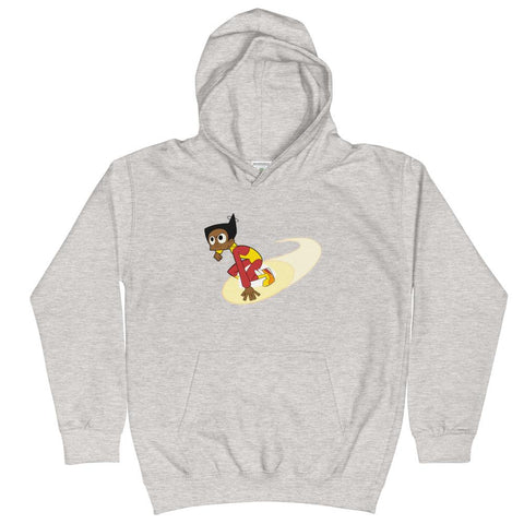 Endless Esther Kid's Hoodie Heather Grey | Twelve Forever