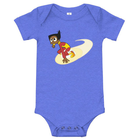 Endless Esther Onesie Heather Columbia Blue | Twelve Forever