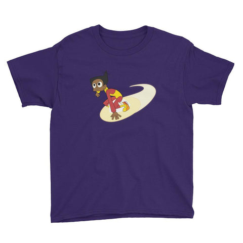 Endless Esther Youth Short Sleeve T-Shirt Purple | Twelve Forever