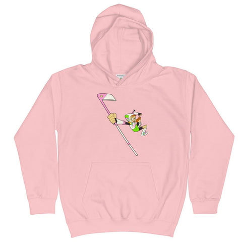 Endless Reggie Kid's Hoodie Baby Pink | Twelve Forever