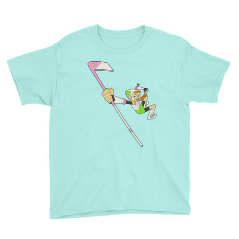 Endless Reggie Youth Short Sleeve T-Shirt Teal Ice | Twelve Forever