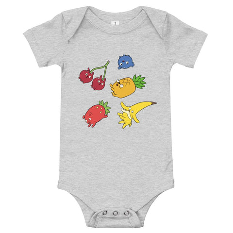 Fruit Puppies Onesie Athletic Heather | Twelve Forever