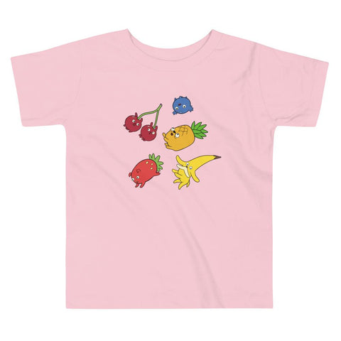Fruit Puppies Toddler Short Sleeve Tee Pink | Twelve Forever