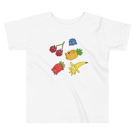 Fruit Puppies Toddler Short Sleeve Tee White | Twelve Forever