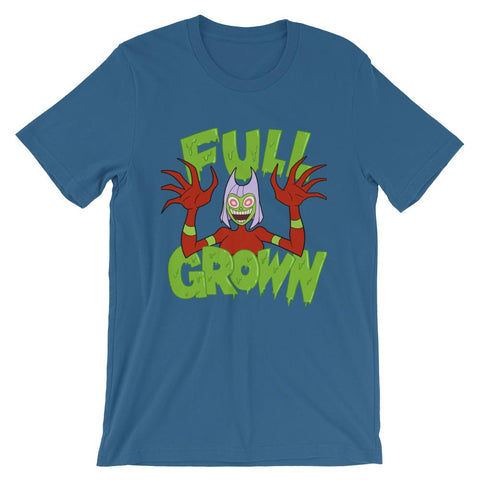 Full Grown Soft Short-Sleeve Unisex T-Shirt Steel Blue | Twelve Forever
