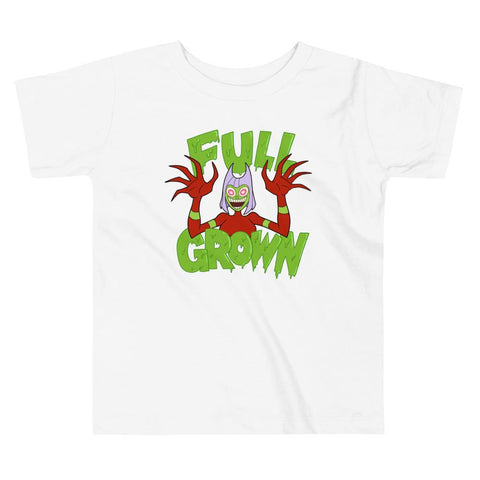 Full Grown Toddler Short Sleeve Tee White | Twelve Forever