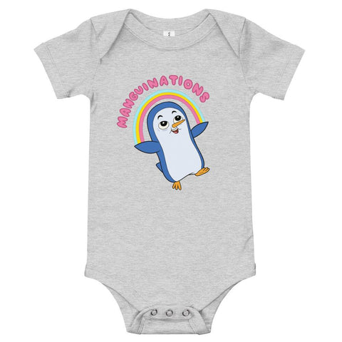 Manguinations Onesie Athletic Heather | Twelve Forever