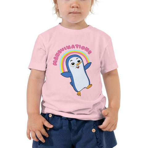 Manguinations Toddler Short Sleeve Tee Pink | Twelve Forever