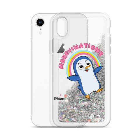Manguinations Liquid Glitter Phone Case
