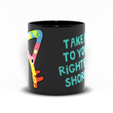 Reggie's Key Black Mug-11 oz | Twelve Forever