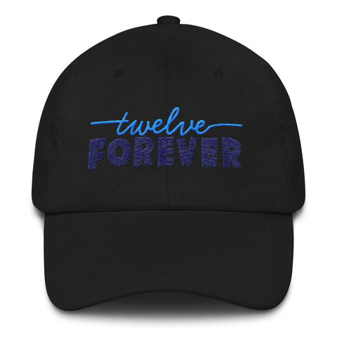 TF Logo Dad hat Black | Twelve Forever