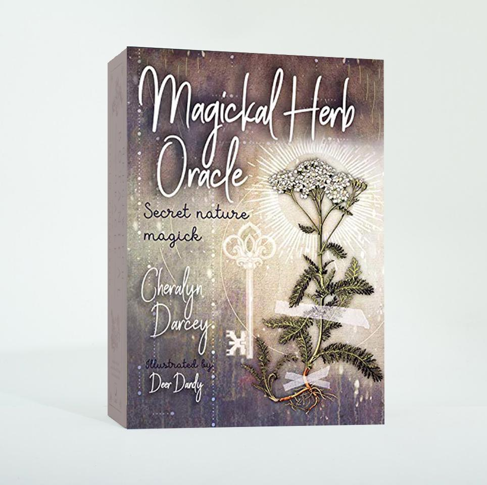 Magickal Herb Oracle Cards Deck & Book (Cheralyn Darcey)