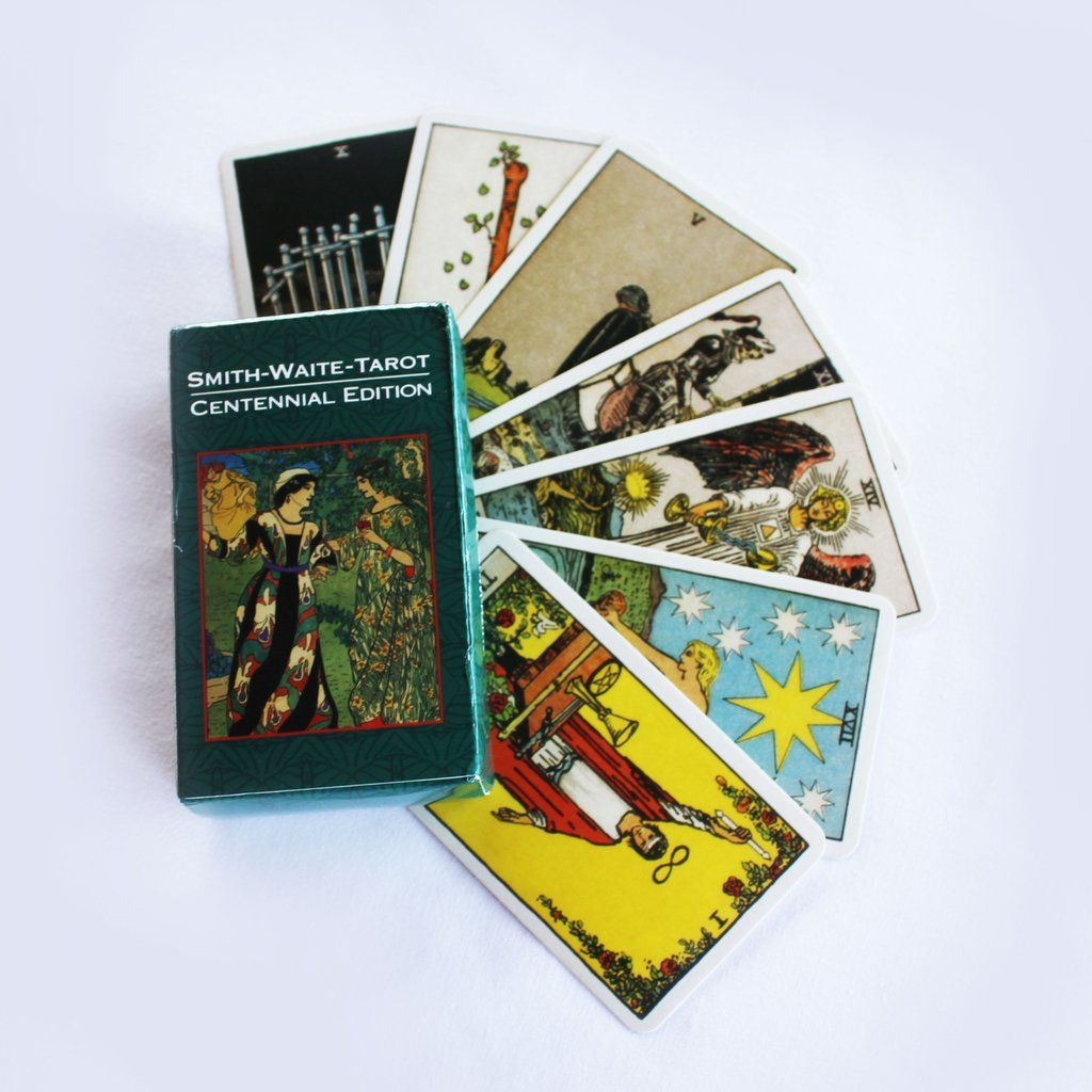 The Smith-Waite Centennial Tarot Deck (Pamela Colman Smith)