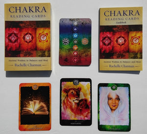 Chakra Reading Cards Deck & Book (Rachelle Charman)