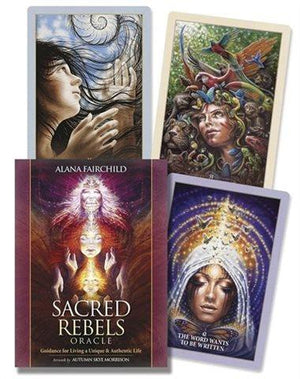 Sacred Rebels Oracle Cards Deck & Book (Alana Fairchild & Autumn Skye Morrison)
