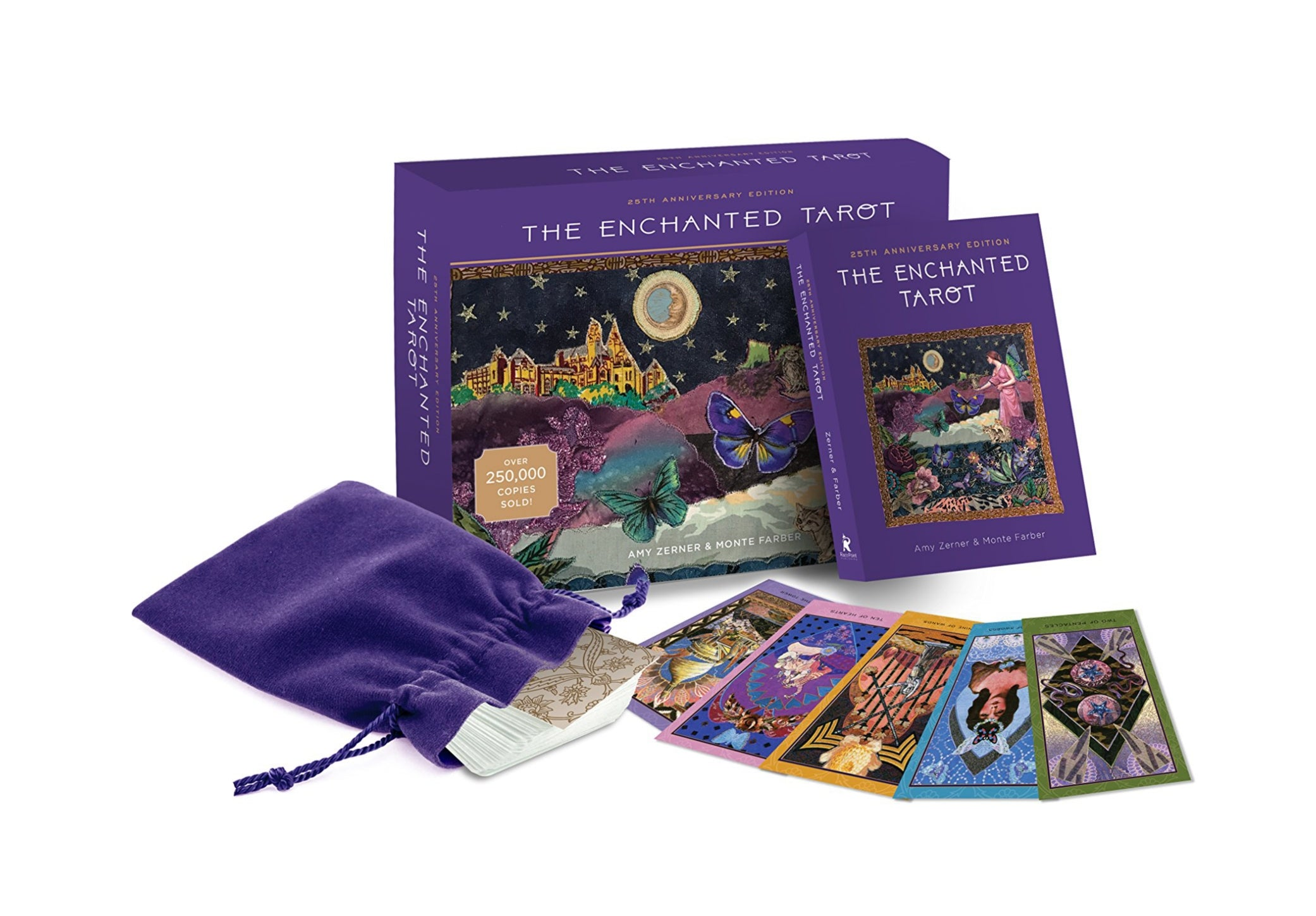 The Enchanted Tarot Deck & Book (Zerner & Farber)