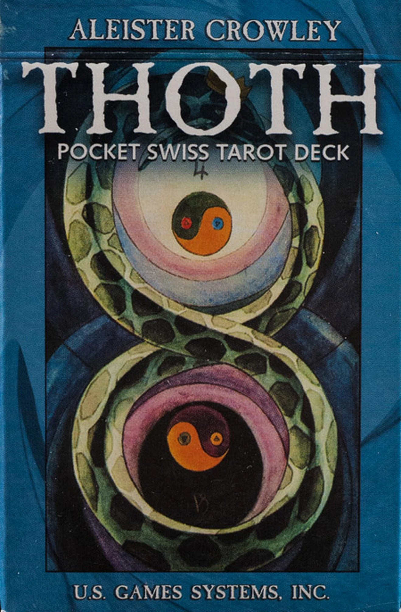 Thoth Pocket Swiss Tarot Deck (Aleister Crowley)