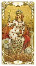Load image into Gallery viewer, Golden Art Nouveau Tarot Deck (Giulia F. Massaglia)