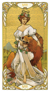 Golden Art Nouveau Tarot Deck (Giulia F. Massaglia)