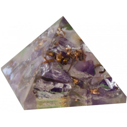 Amethyst Orgone Pyramid Crystal (25-30mm)