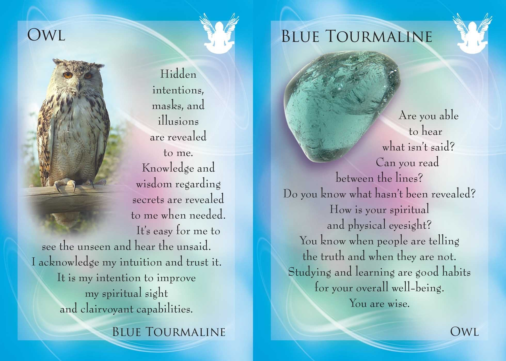 The Animal Allies & Gemstone Guardians Cards Deck (Margaret Ann Lembo)