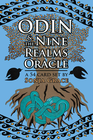 Odin & The Nine Realms Oracle Cards Deck & Book (Sonja Grace)
