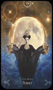 Queen of the Moon Oracle Cards Deck & Book (Stacey Demarco)