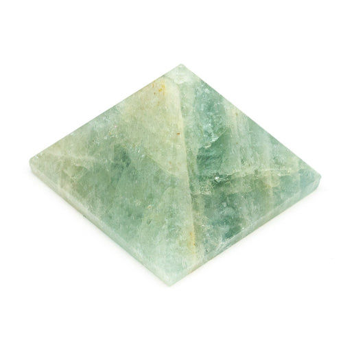 Aquamarine Pyramid Crystal (25-30mm)