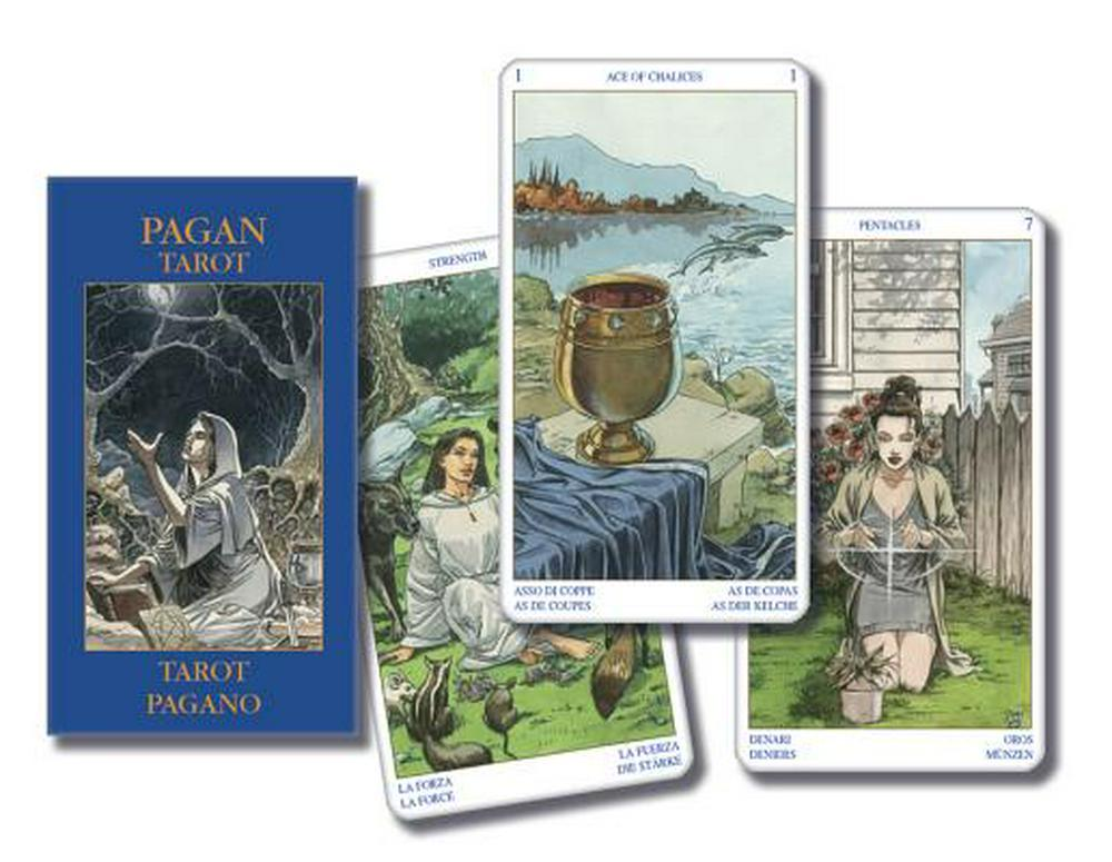 Pagan Tarot Mini Deck (Lo Scarabeo)