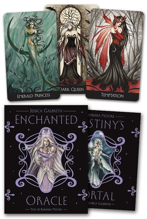Enchanted Oracle Cards Deck (Jessica Galbreth & Barbara Moore)