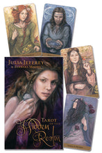 Load image into Gallery viewer, Tarot of the Hidden Realm Deck & Book (Julia Jeffrey & Barbara Moore)