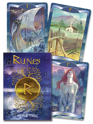 Runes Oracle Cards Deck (Lo Scarabeo)