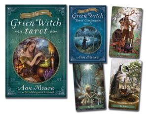 The Green Witch Tarot Deck & Book (Ann Moura & Kiri Østergaard Leonard )