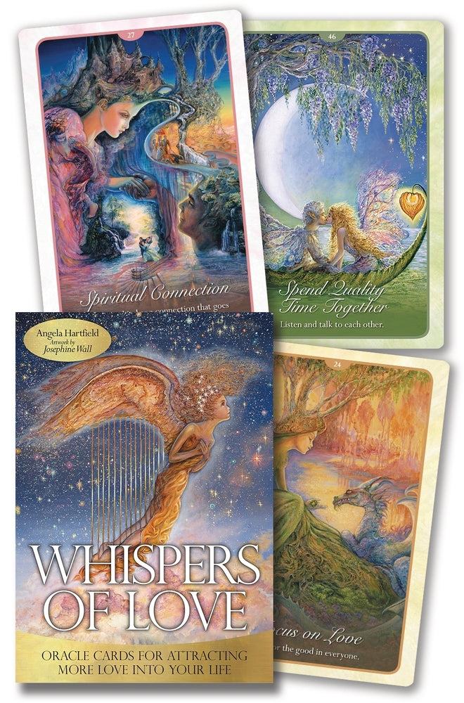 Whispers of Love Oracle Cards Deck (Angela Hartfield & Josephine Wall)