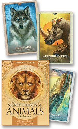 The Secret Language of Animals Oracle Cards Deck & Book (Chip Richards)