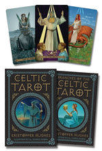 Load image into Gallery viewer, Celtic Tarot Deck & Book (Kristoffer Hughes & Chris Down)