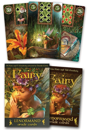 Fairy Lenormand Oracle Cards Deck (Marcus Katz & Tali Goodwin)
