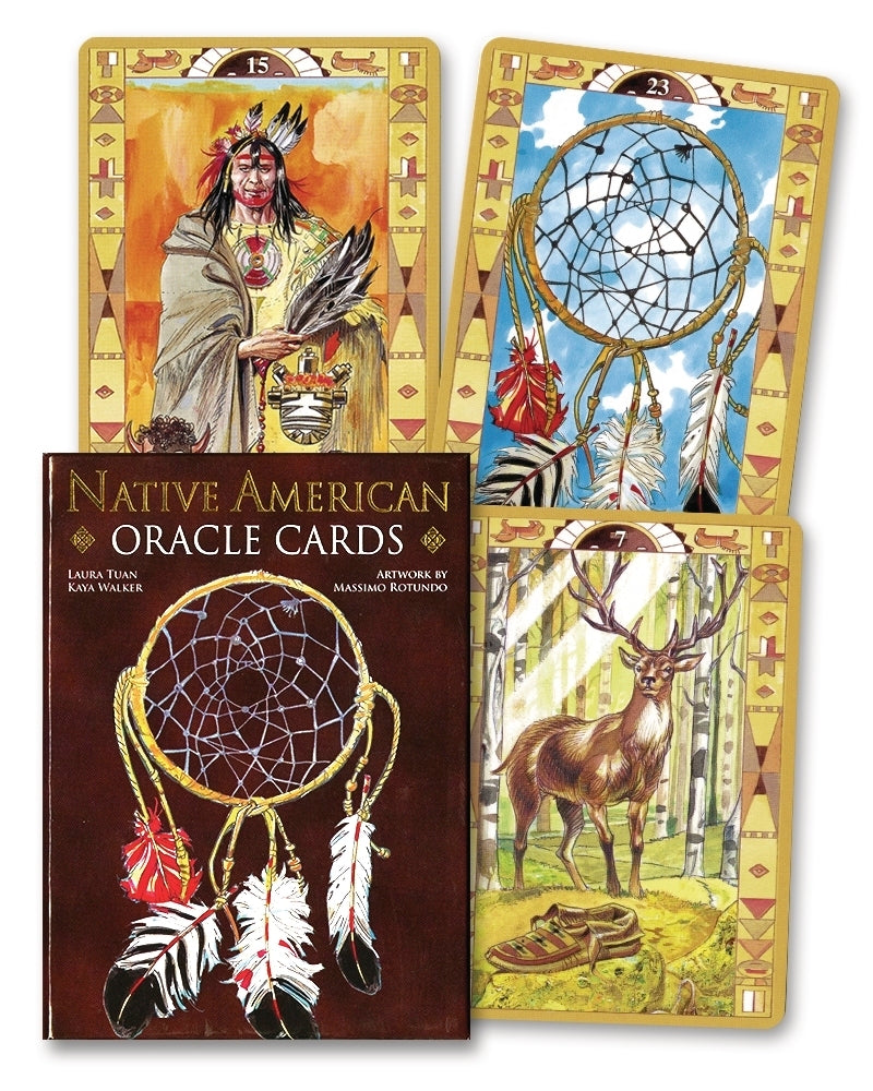 Native American Oracle Cards Deck (Lo Scarabeo & Massimo Rotunda)