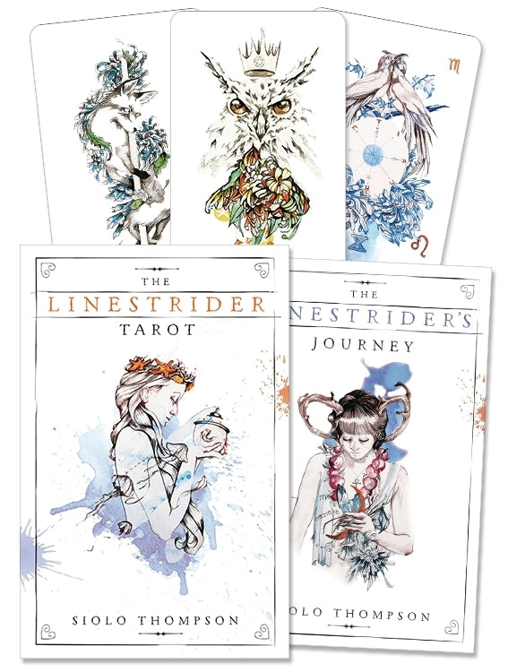 The Linestrider Tarot Deck & Book (Siolo Thompson)