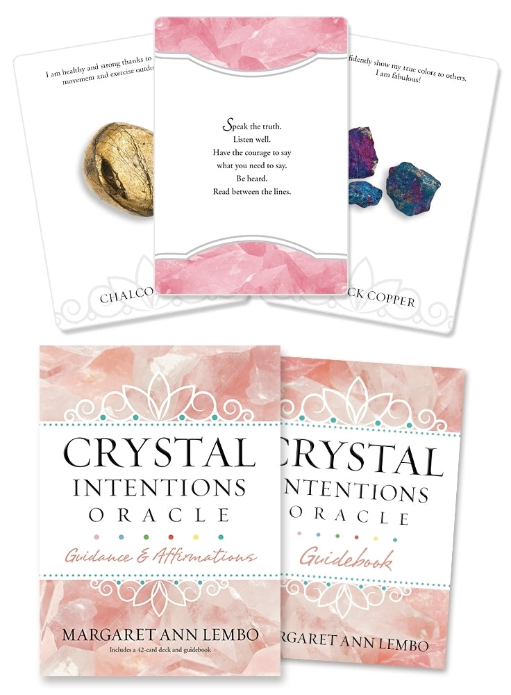 Crystal Intentions Oracle Cards Deck (Margaret Ann Lembo)