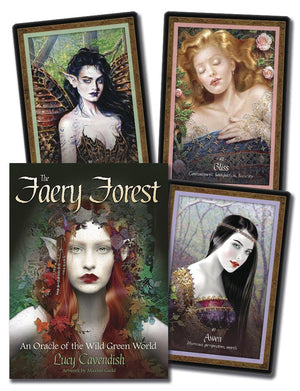 The Faery Forest Oracle Cards Deck (Lucy Cavendish)